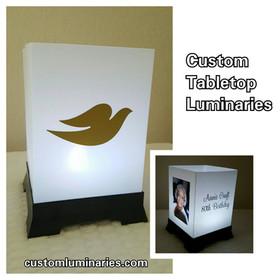 Custom tabletop Luminaries