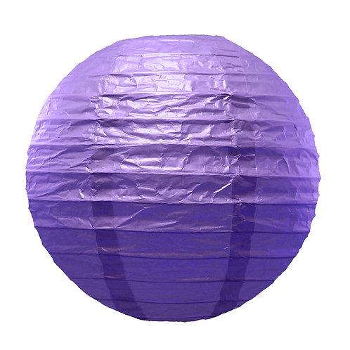 Paper Lantern 10″ PURPLE 5ct