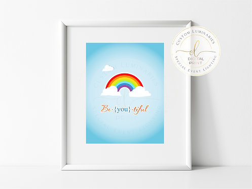 Beautiful Rainbow Print *Instant Download*