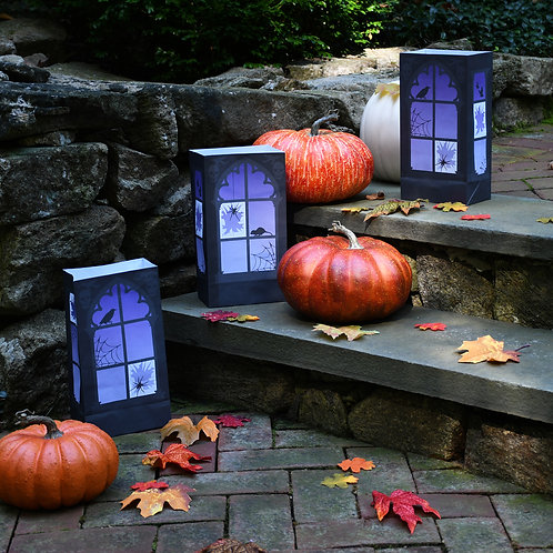 Haunted Halloween Luminary Bags -  24ct