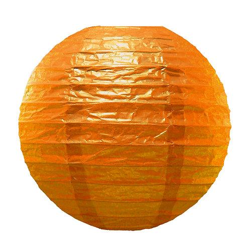 Paper Lantern 10″ ORANGE 5ct