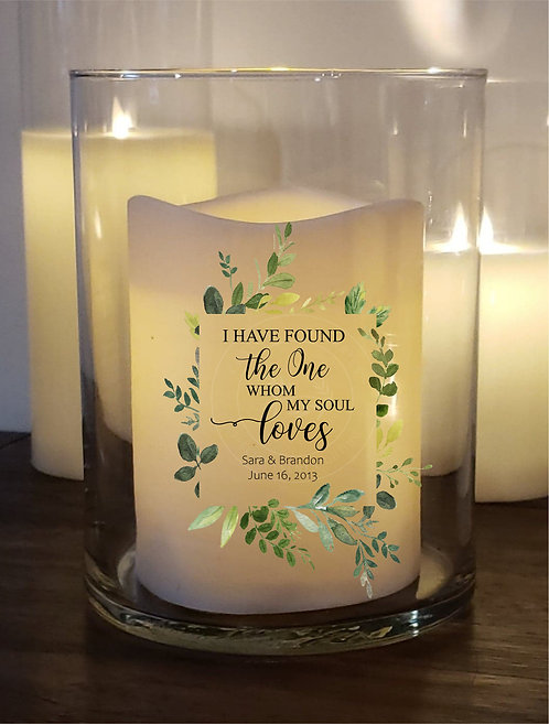 The One MySoul Loves Custom Candle