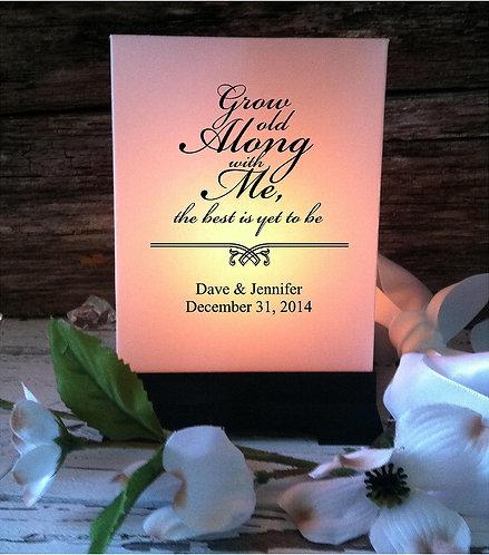 "Wedding Centerpieces 5"" High - 6 Count"