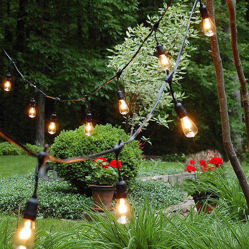 Electric Patio PRO Commercial Grade String Lights 12L