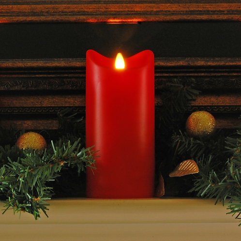 LumaCandle Natural Motion LED RED Candle 1ct