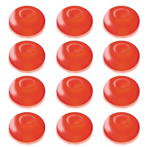 Battery LED Floating Blimp Lights - Red 12L