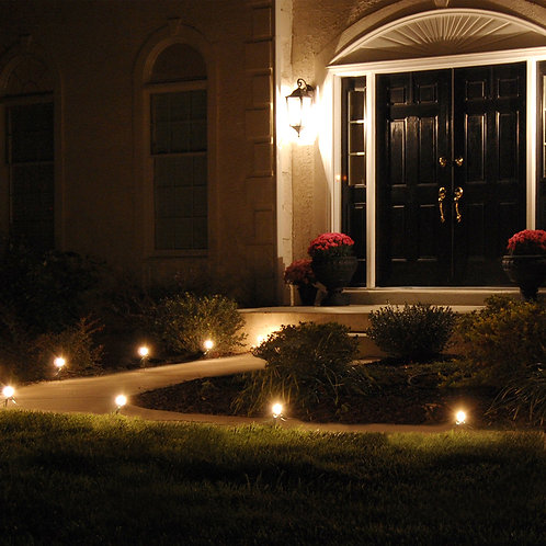 Electric Pathway LED Kit C9 Clear 8L