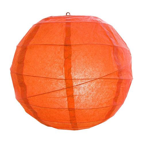 "Paper Lantern Criss Cross 12"" - Orange 5ct"