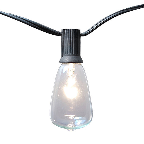 Electric Patio Edison String Lights 10L