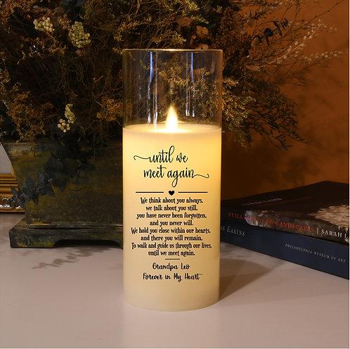 Til We Meet Again Memorial Candle