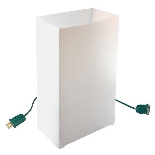 Electric Luminaria Kit - White 10L