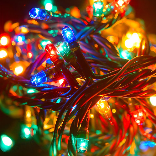 Electric String Light - Multi Color 70L