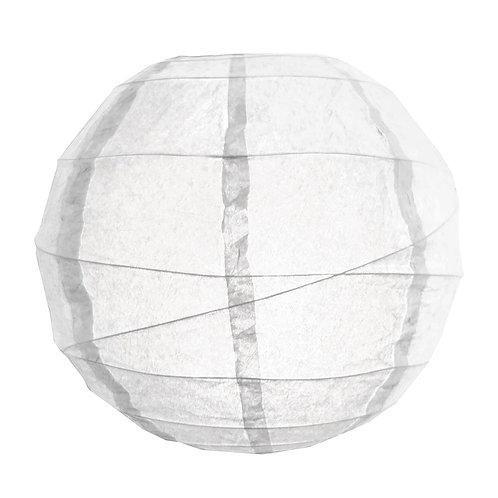 "Paper Lantern Criss Cross 12"" - White 5ct"
