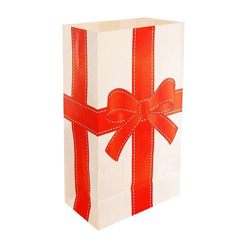 Christmas Gift Luminary Bags - 24 Ct
