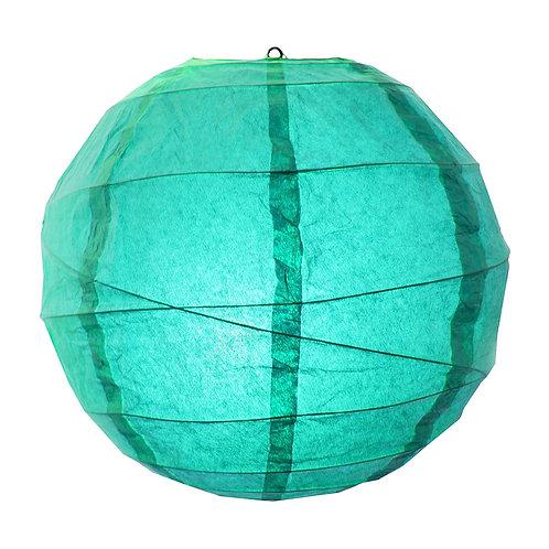 "Paper Lantern Criss Cross 12"" - Turquoise 5ct"