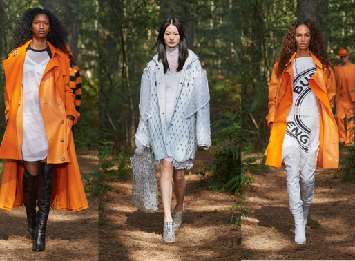 London Fashion Week Rewind: Highlights From Burberry's Spring/Summer 2021 Collection