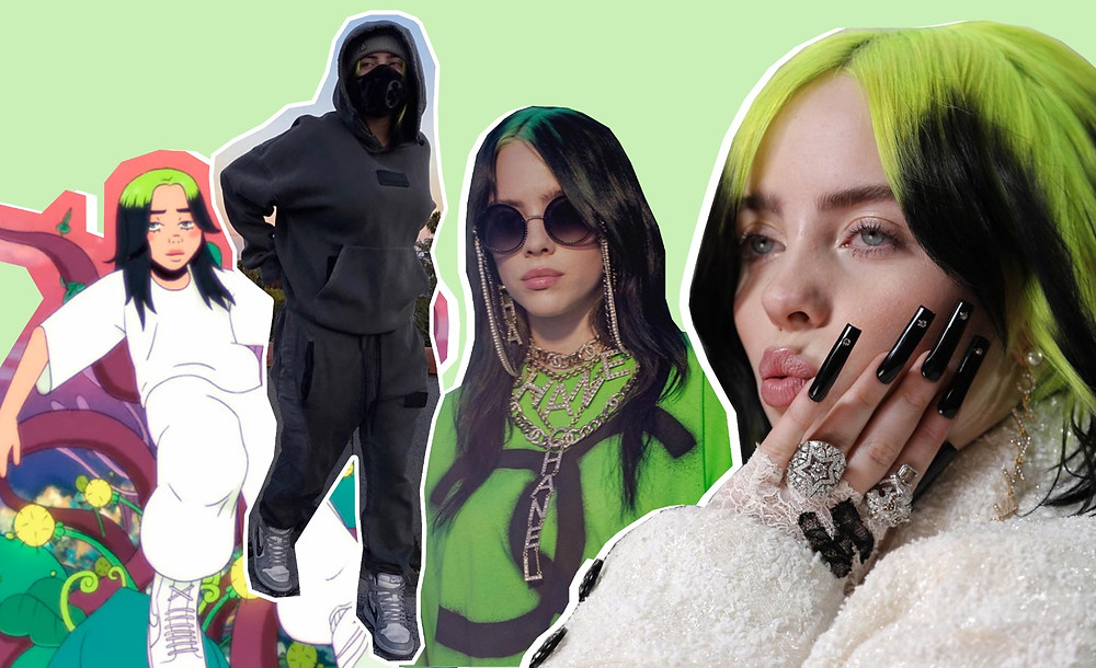 Billie Eilish images via, @billieeilish on Instagram, AP, 'My Future'