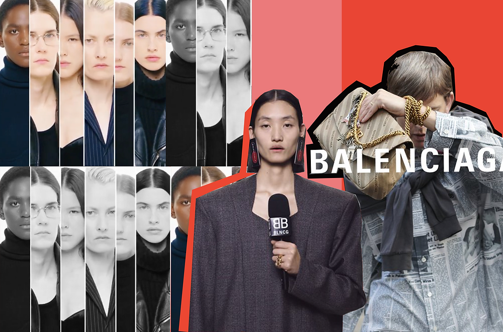Images from Official Balenciaga Campaign