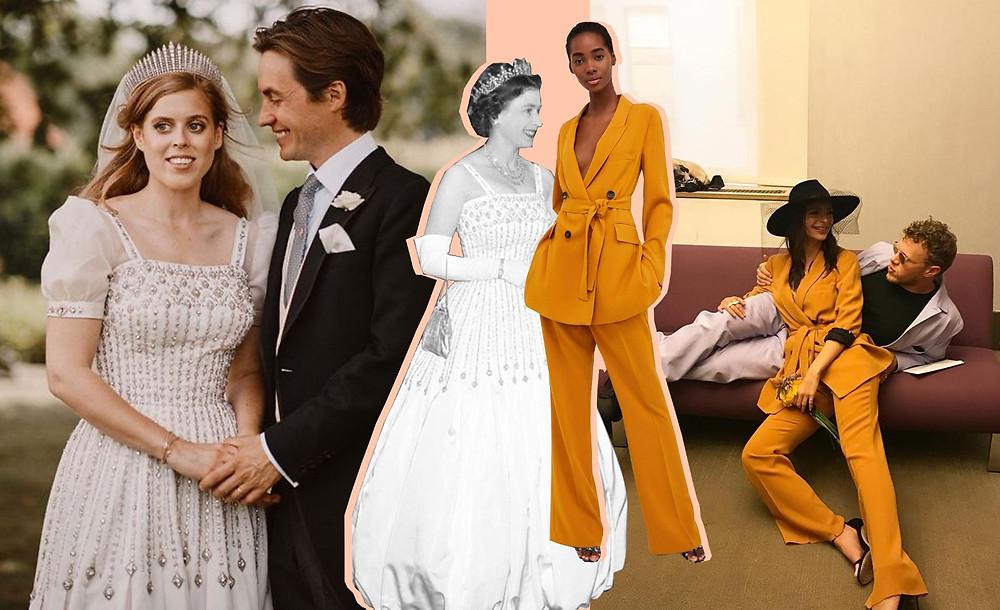Princess Beatrice, Queen Elizabeth, Edoardo Alessandro Mapelli Mozzi images via Getty Images