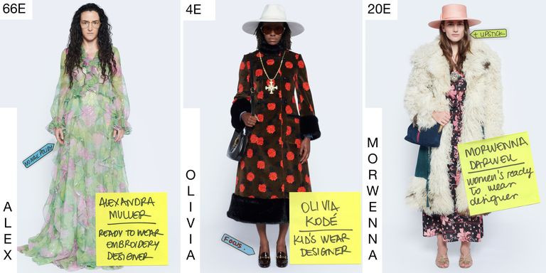 Gucci Epilogue Spring/Summer 2021 collection courtesy of Harpers Bazar