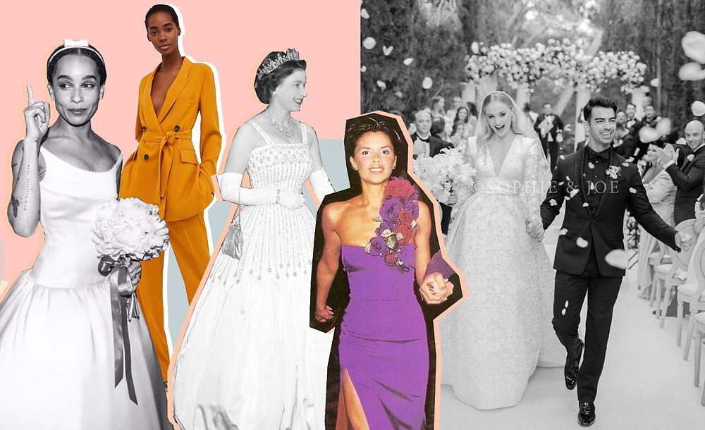Victoria Beckham, Zoe Kravitz, Zara, Queen Elizabeth, Sophie Turner, Joe Jonas