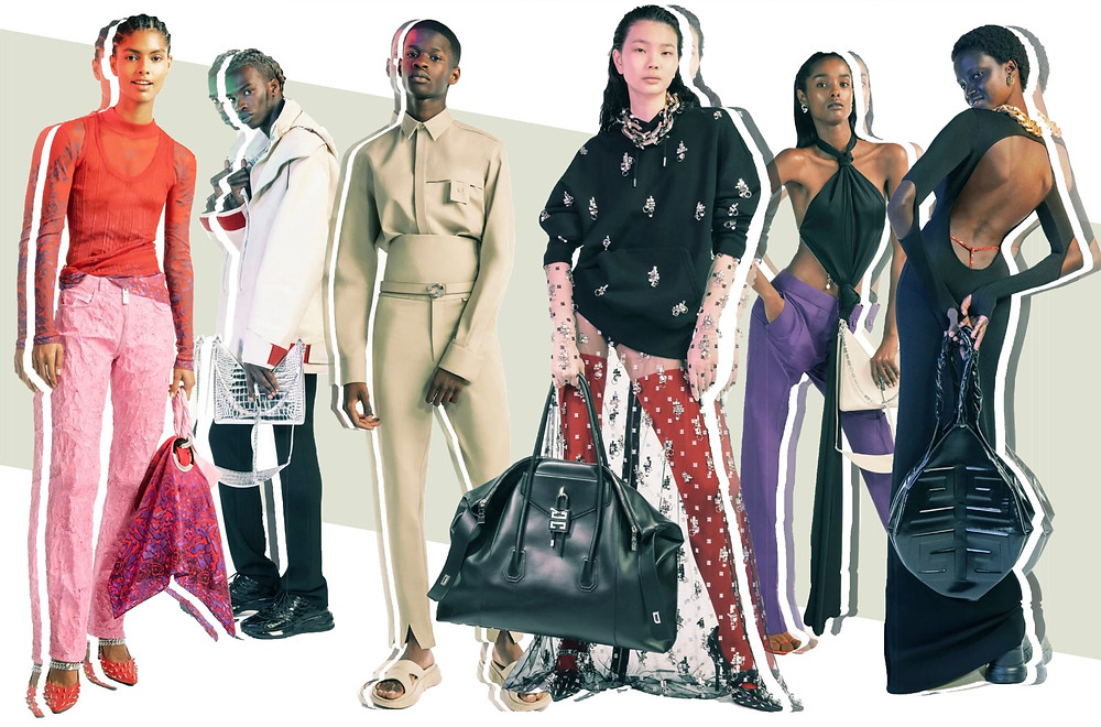 Givenchy SS21 Collection images via Vogue Runway