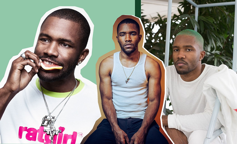 Frank Ocean images via NY Times, Willy Vanderperre, Dazed, Wolfgang Tillamans