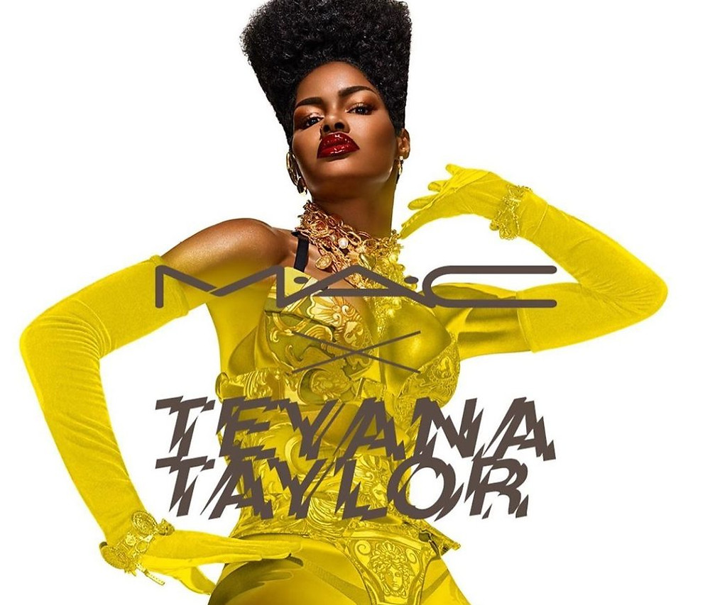 Teyana Taylor from M.A.C Cosmetics Instagram