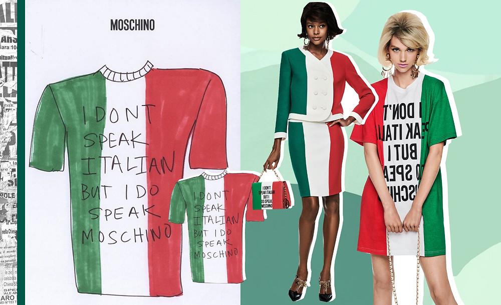 Vogue. Moschino Resort 2021 Collection, @Moschino Instagram
