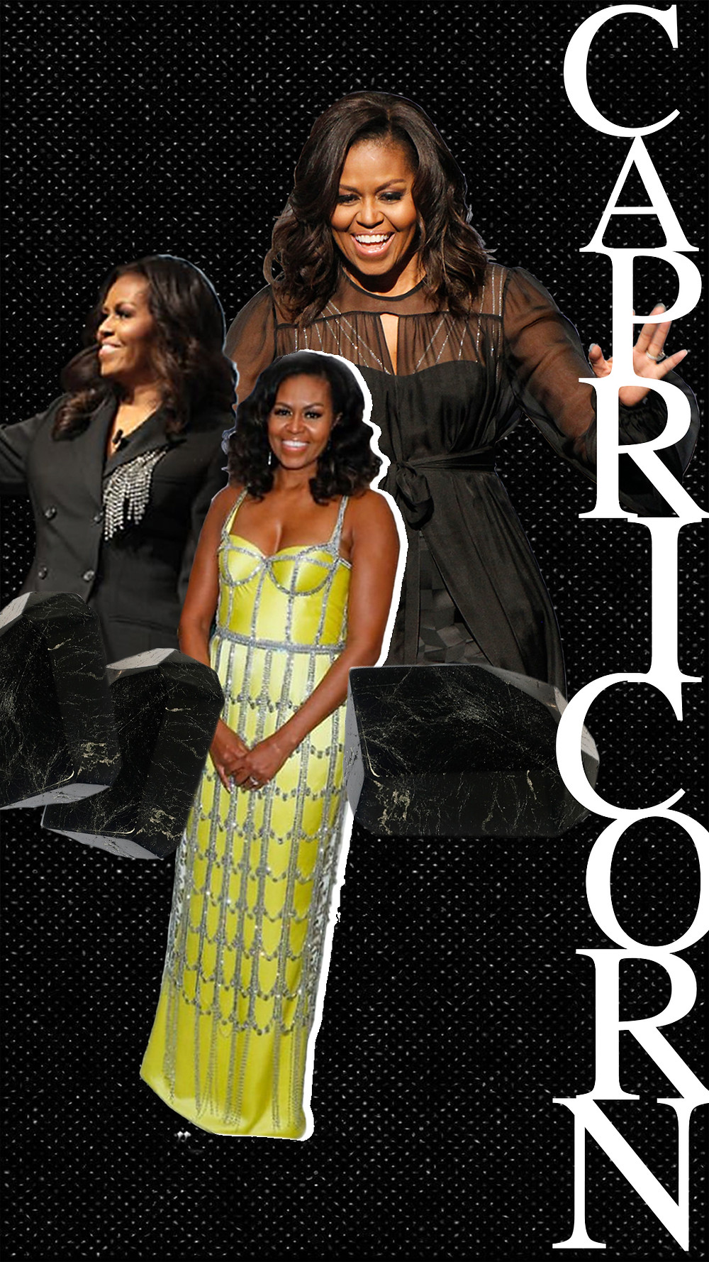 Michelle Obama, images via Angela Peterson/Milwa, @michelleobama
