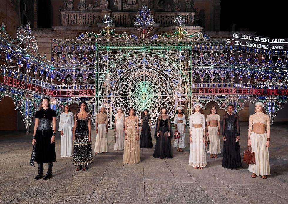 Dior Cruise 2021 Collection via Fashion Press