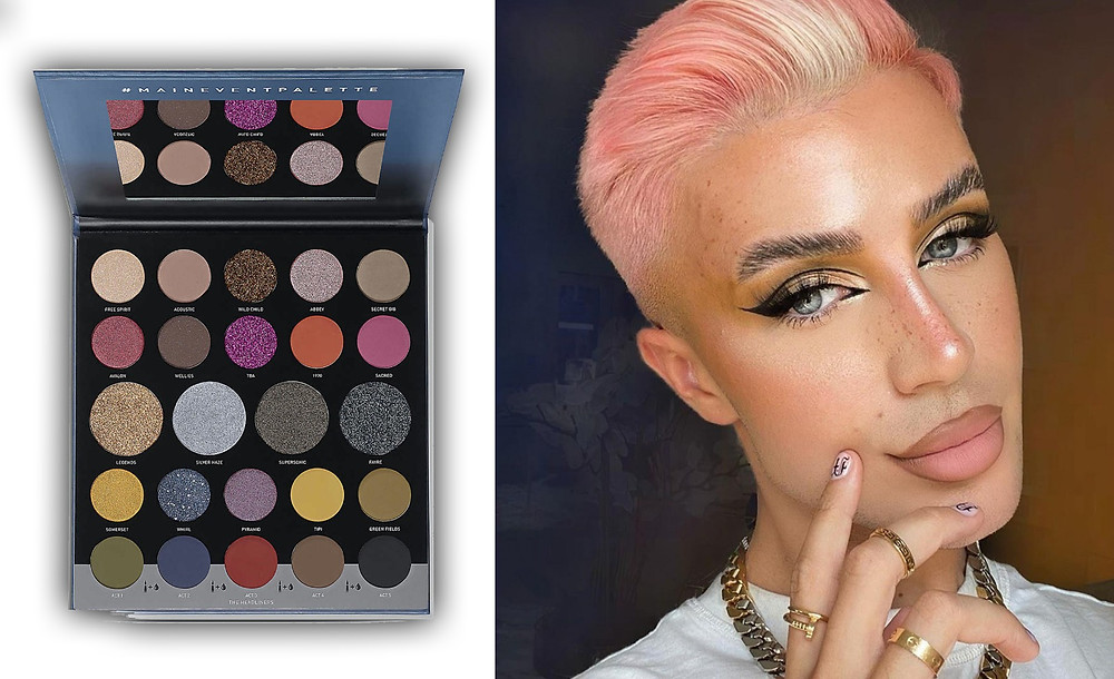 Morphe 24M Main Event Palette images @morphebrushes