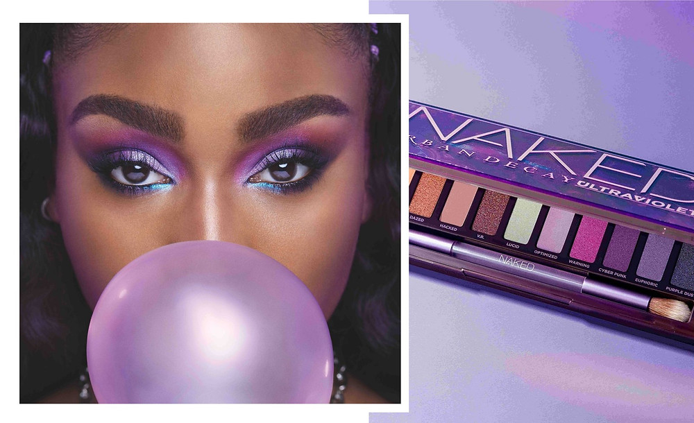 Urban Decay Ultraviolet and Normani from Urban Decay Website and Instagram