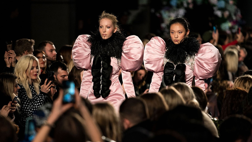 London Fashion Week AW202 images via WILL OLIVER/EPA-EFE/Shutterstock