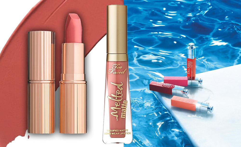 Charlotte Tilbury, Too Faced, Dior images via Cult Beauty, Two Faced, @diormakeup