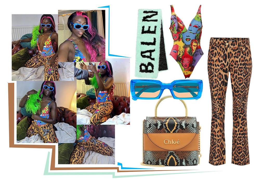 Bree Runway, Versace, Paco Rabanne, Chloe, Balenciaga, Retrosuperfuture