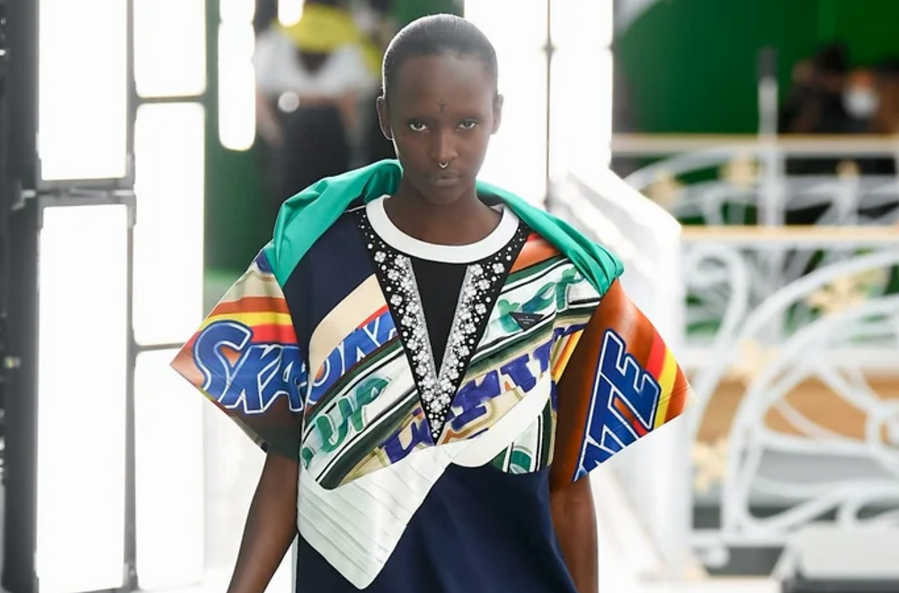 Louis Vuitton SS21 collection image via Vogue Runway