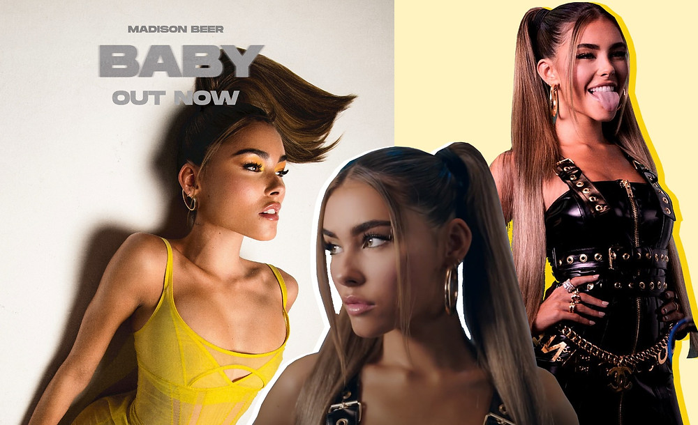 Madison Beer images via Stoked PR, Baby Video
