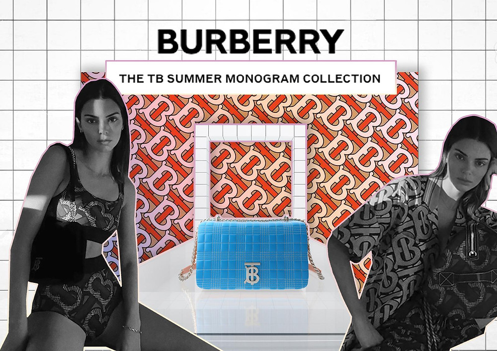Kendall Jenner/ Official Burberry Website