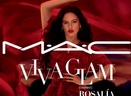 Rosalía is the Latest Face of M.A.C Viva Glam