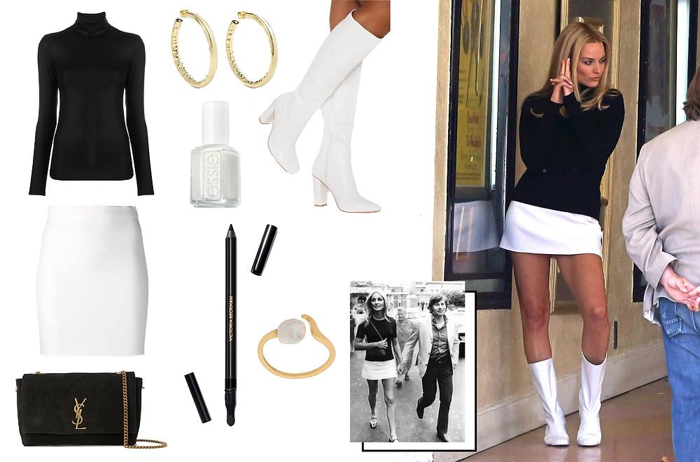 Margot Robbie, Sharon Tate images via