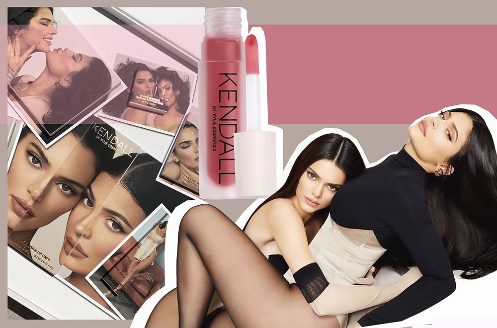 Kendall and Kylie Jenner from Kylie Jenner Instagram and Kylie Cosmetics
