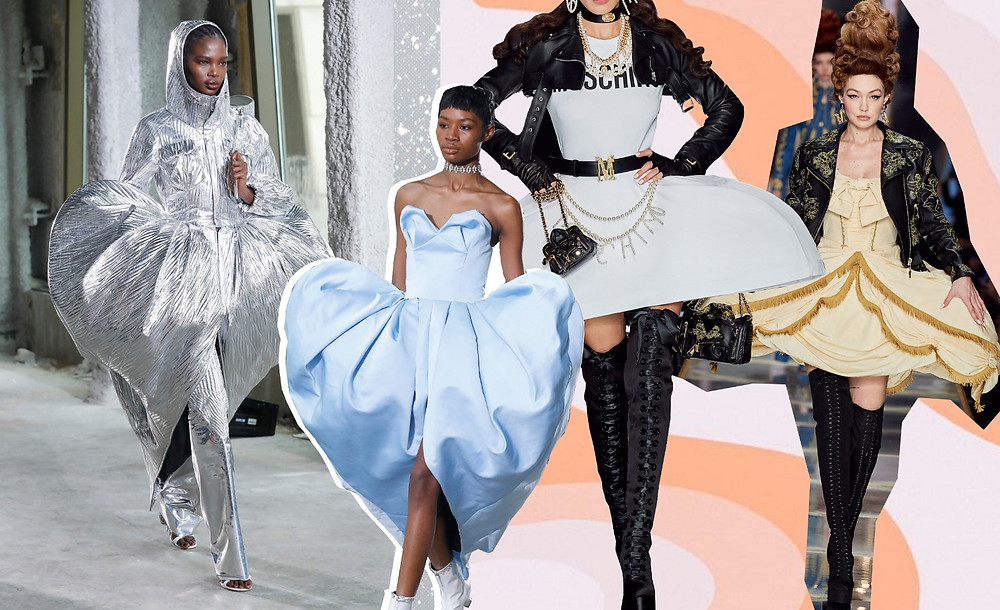 Fall 2020 Ready-to-Wear Area and Moschino
