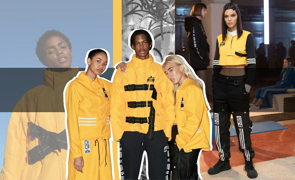 Olivia Oblanc, Kendall Jenner, Adidas Collection