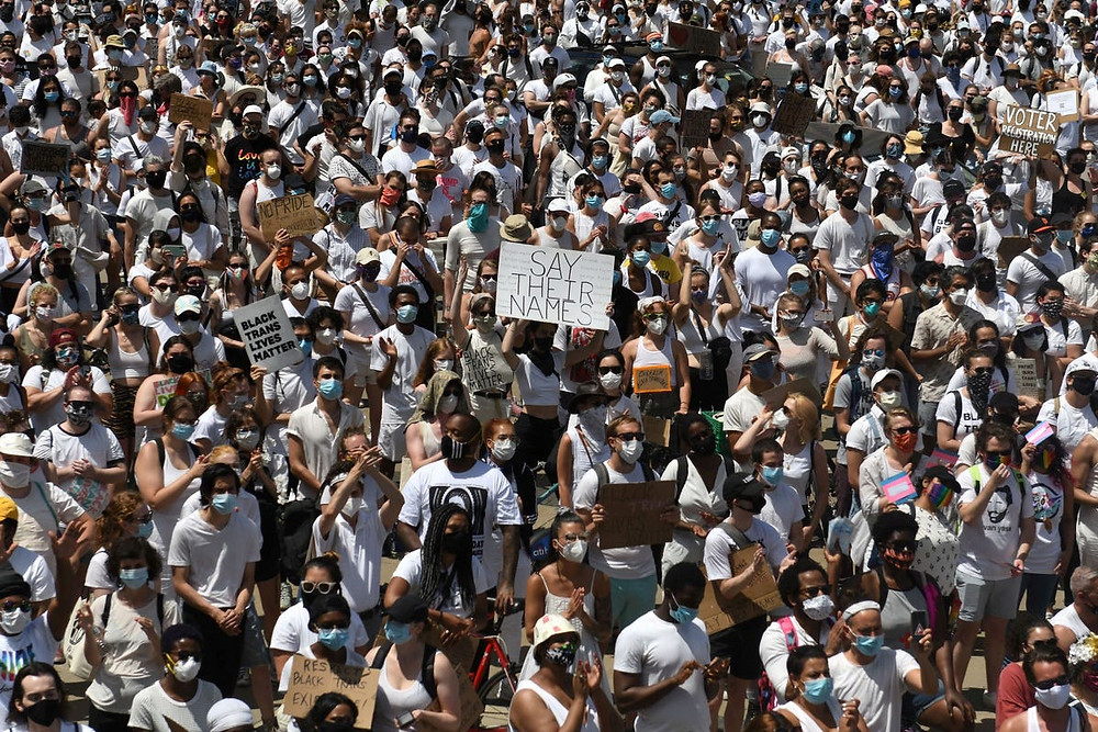 Black Trans Lives Matter Protests in America