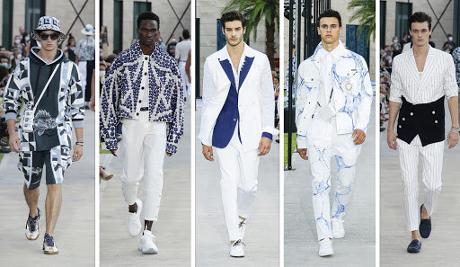 Dolce & Gabbana spring 2021 Menswear collection Courtesy of Top Fashion News