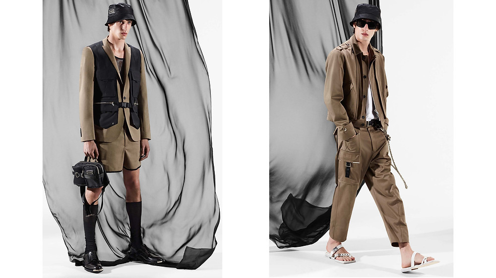 Les Hommes SS21 Collection
