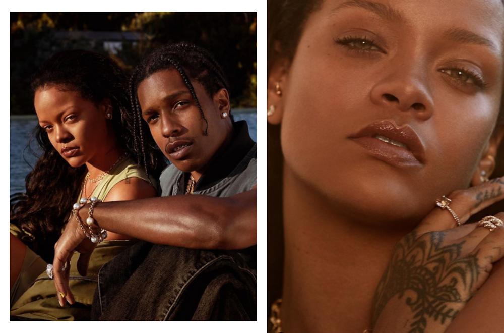 Rihanna A$AP Rocky Fenty Skin Instagram/ Rihanna Instagram