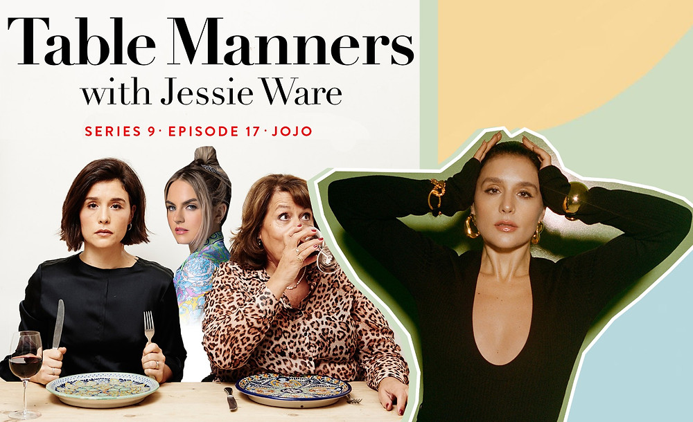 Table Manners, Jessie Ware image via Carlijn Jacobs