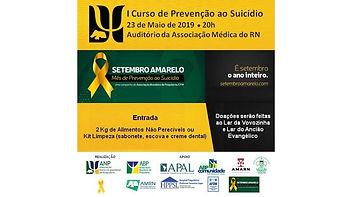 I Curso ANP de Prevenção ao Suicídio  Ação Social